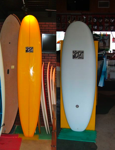 Neilson Surfboards - Longboard and Blunt