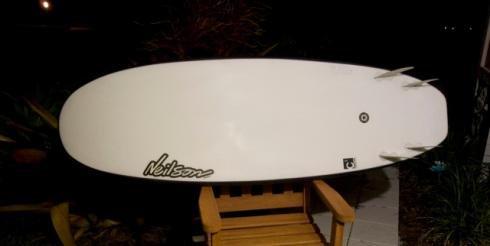 Neilson Blunt Custom Surfboard quad fin